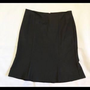 Talbots Black Skirt  NWT